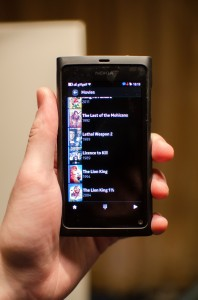 There's a great remote app available for the Nokia N9. Check it out!